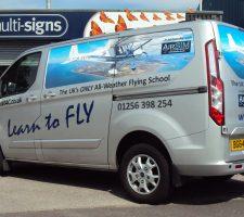 Airbourne-Aviation-van-graphics