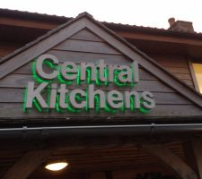 Central Kitchens Standoff letters