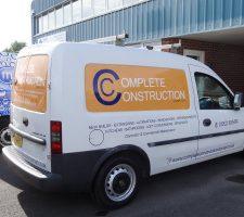 Complete-Construction-Vauxhall Van