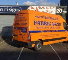 Fabric-Land-Van
