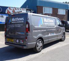 Matthews Painting & Decorating Van