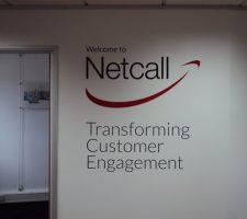 Netcall-Interior-Wall-ignage