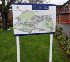 Rinwood-School-Map-Sign