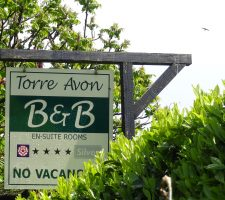 Torre Avon Hanging Sign