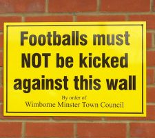 football-warning